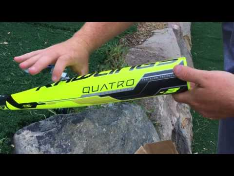 2018 Rawlings Quatro Cage Side Hitting and Review