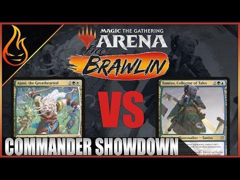 Tamiyo Vs Ajani Magic The Gathering Arena | Free Brawlin Historic Brawl Ep1