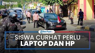 Wapres Ma'ruf Amin Tinjau SDN Inpres Vim 1 Kotaraja, Siswa Curhat Perlu Laptop dan Handphone