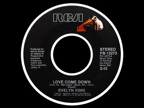 Evelyn King ~ Love Come Down 1982 Disco Purrfection Version