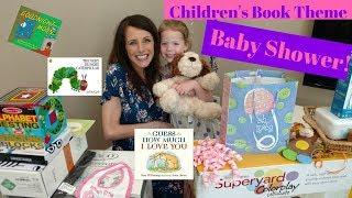 Children's Book Theme Baby Shower!