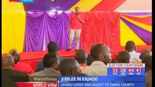 Uhuru leads Jubilee in search of Kajiado votes