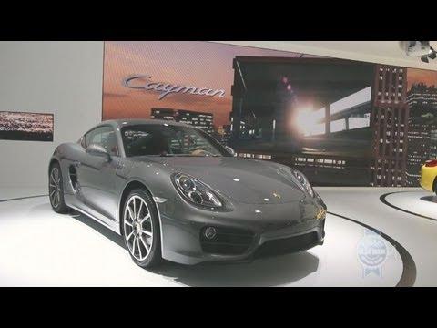 2013 Porsche Cayman – 2012 Los Angeles Auto Show