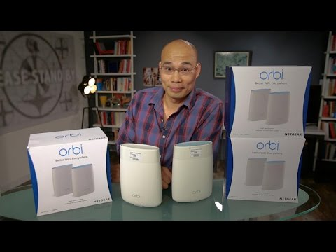 The Netgear Orbi might just be the best Wi-Fi system to date