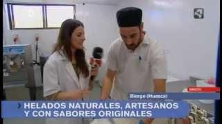 preview picture of video 'Helados naturales en Bierge | Marta López | Aragón en Abierto'