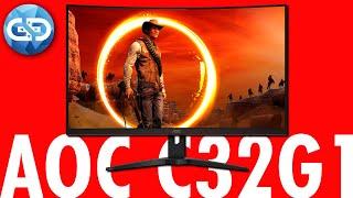 """AOC C32G1 32"""" 144Hz Curved Gaming Monitor Review - WAS EIN RIESEN GERÄT"""