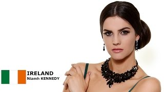 Niamh Kennedy Contestant from Ireland for Miss World 2016 Introduction