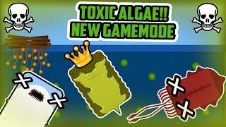 Deeeep.io TOXIC ALGAE INSANE NEW GAMEMODE! //  LAST MAN STANDING SURVIVAL Gamemode!! - Deeeep.io