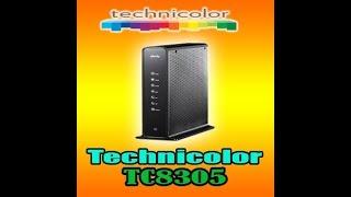 Video Search Result for technicolor router tc8715d