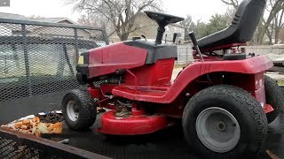 Murray Riding Mower - Electrical problems fixed - 405011x92A