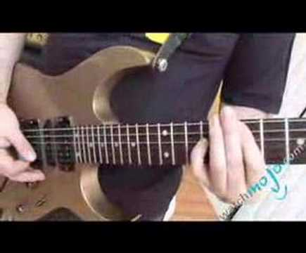 Guitarist plays I Don't Care About Nothing by Shotgun…