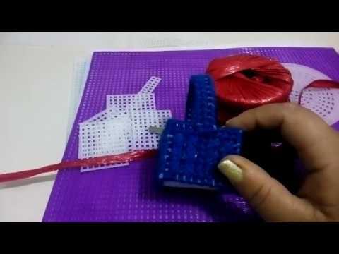 Material para trabajar la malla plástica