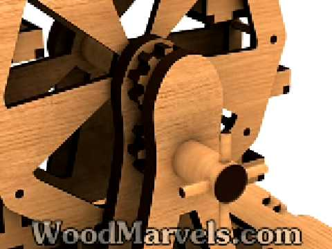 Build your own wooden Ferris Wheel!