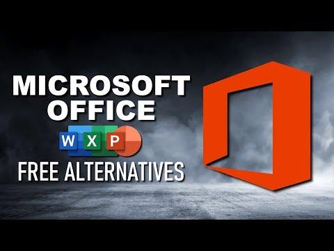 Top 5 Best FREE MICROSOFT OFFICE Alternatives