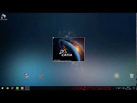 Catia V5 R21 Download & installation 64bit 32bit windows 10