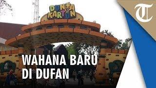 Dunia Kartun, Kawasan Anak-anak Memacu Adrenalin di Dufan Ancol