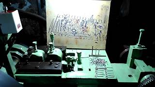Hook making machine (wire forming) - Download this Video in MP3, M4A, WEBM, MP4, 3GP