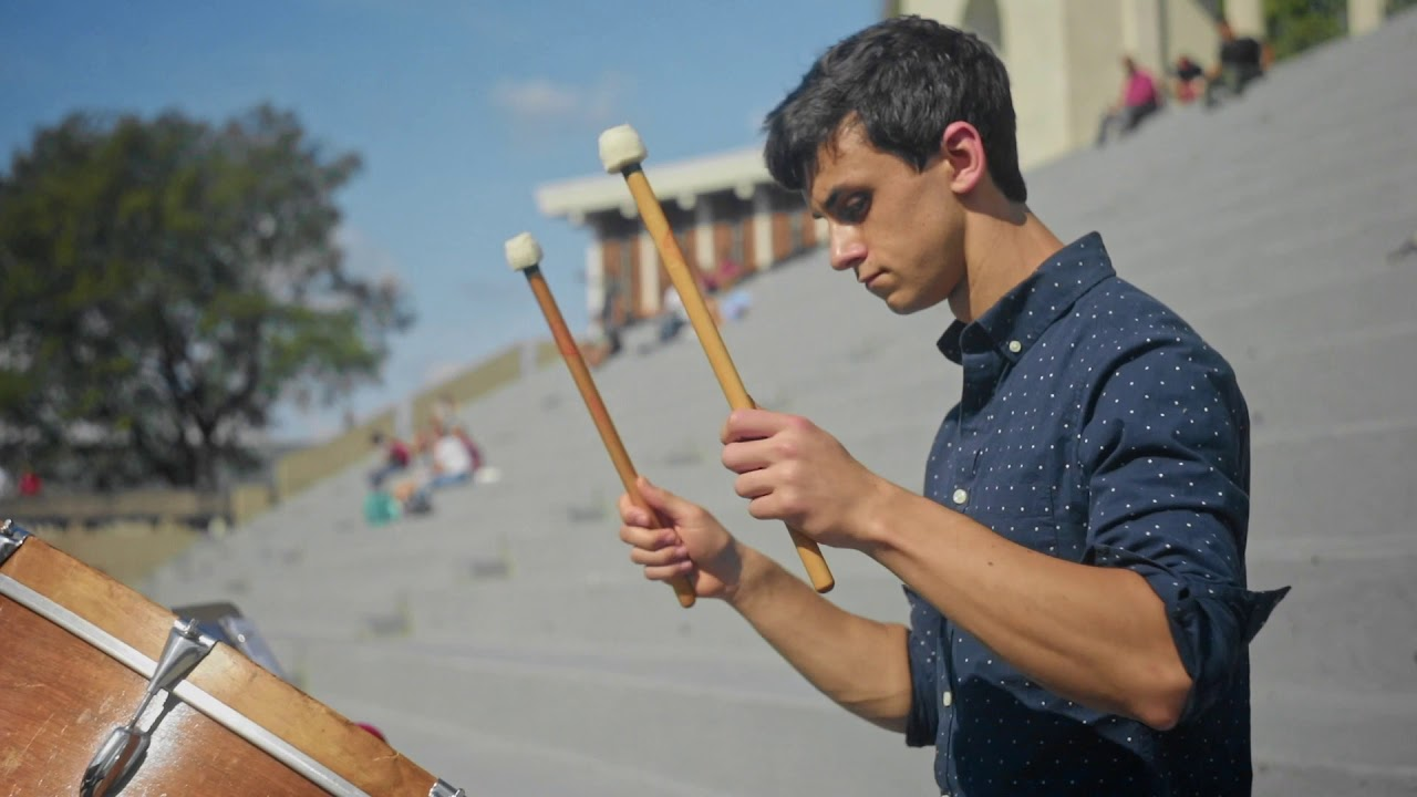 View from the Hill - Outdoor Percussion Event  Video Preview