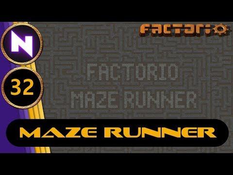Factorio 0.17 Maze Runner #32 SURVEYING THE NEW LAND