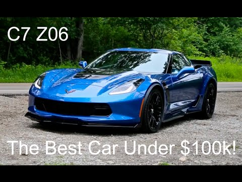 Why The 2015 C7 Corvette Z06 Is The BEST Performance Car Under $100k!