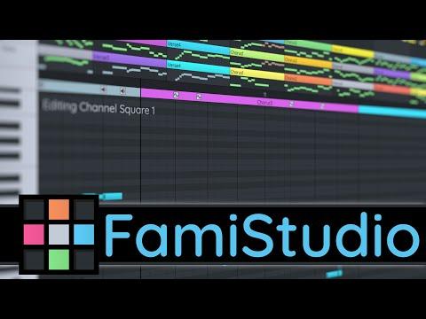 FamiStudio–NES Style Music Editor