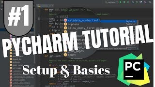 Pycharm Tutorial #1 - Setup & Basics