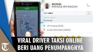 Viral Driver Taksi Online Gratiskan dan Bayari Pengobatan Penumpangnya yang Lupa Membawa Dompet