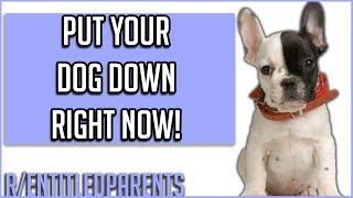 "r/EntitledParents - ""PUT YOUR DOG DOWN NOW!""   REDDIT TOP POSTS"