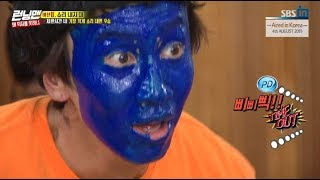 [HOT CLIPS] [RUNNINGMAN] [EP 462-2]   Why KwangSoo changed to Blue Monster?(ENG SUB)