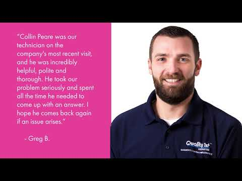 Annual Service appointments are very important to ensure your system is always working properly to keep your home dry. Check out what Greg had to say about his recent visit with Service Manager, Collin Peare.