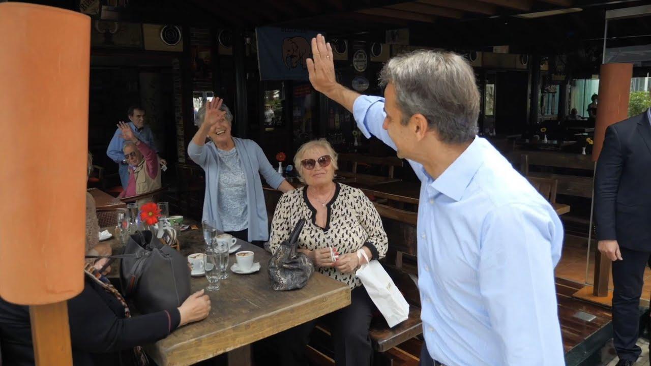 Eπίσκεψη του Πρωθυπουργού Κυριάκου Μητσοτάκη στον Πειραιά