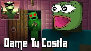 Monster School : DAME TU COSITA HORROR GAME CHALLENGE - Minecraft Animation