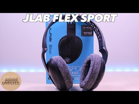JLAB Flex Sport Wireless Headphones - Perfect For The Gym & Workouts