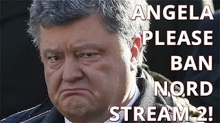 Poroshenko: We Will Give Our Gas Infrastructure To Germans, If Merkel Bans Russia's Nord Stream 2