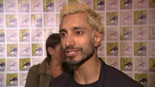 Riz Ahmed gets his first taste of Comic-Con