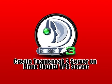 TeamSpeak Server (32-bit) tutorial