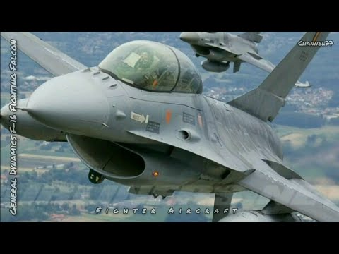 Fighter Aircraft, General Dynamics F-16 Fighting Falcon
