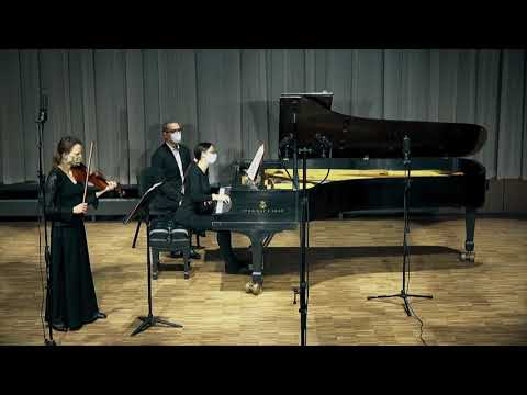 L.Beethoven - Sonata for Violin and Piano No.7 - Mvt 2  Piano - Elene Quobulashvili Violin - Tatiana Zueva