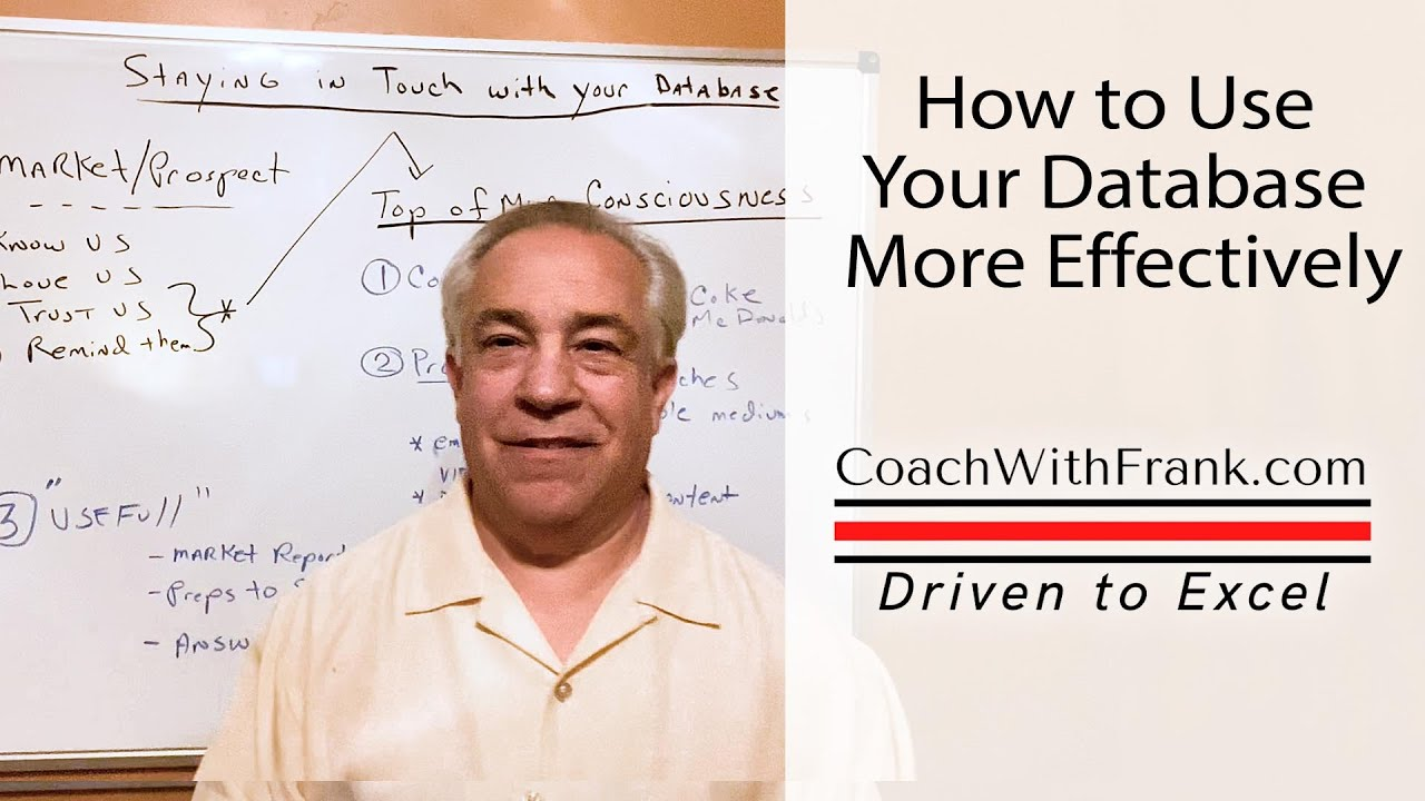 Tips for Using Your Database More Effectively