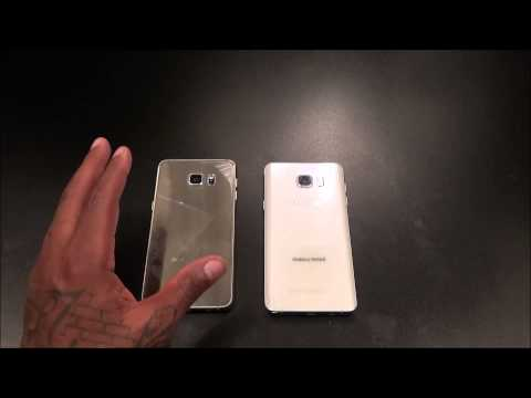 Samsung Galaxy S6 Edge Plus ( Gold ) Unboxing and First Impressions