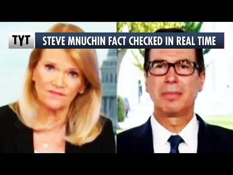 Trump's Treasury Secretary Called Out For Unemployment LIES