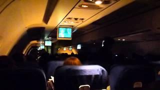 United 790/356 - Vancouver, Denver, San Antonio, Winter Solstice Lunar Eclipse Flight