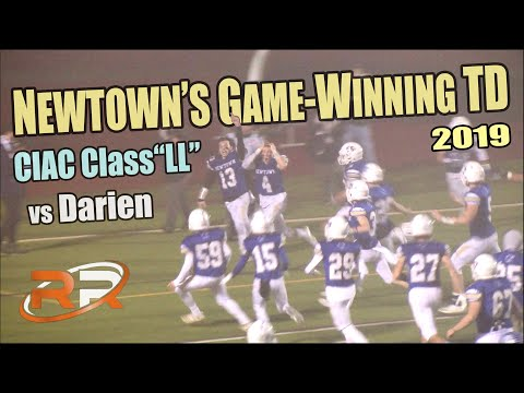 Newtown's Game-Winning Score Against Darien For Class LL Title