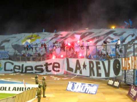 """Salida La*Revo de Iquique vs Santiago Morning (Semifinal Copa Chile 2009)"" Barra: Furia Celeste • Club: Deportes Iquique"
