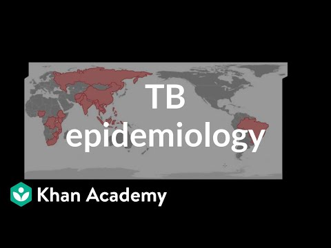 Video TB epidemiology | Infectious diseases | NCLEX-RN | Khan Academy