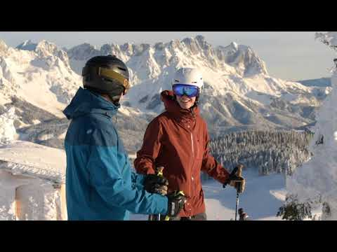 Winterliche Verhältnisse in der SkiWelt
