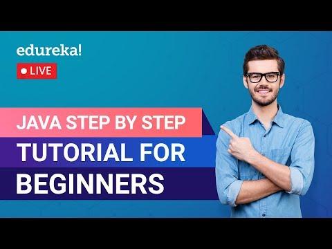 Java Step by Step Tutorial for Beginners | Learn Java | Java Training ...