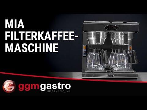 Filterkaffeemaschine FKMC36 - Serie Mia - GGM Gastro