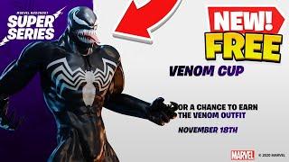 How To Get Venom Skin For FREE NOW! (Fortnite X Marvel)