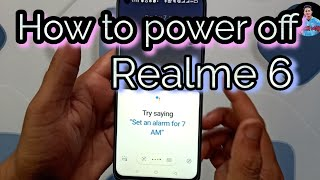 Realme 6 power off problem solution| How to power off Realme 6